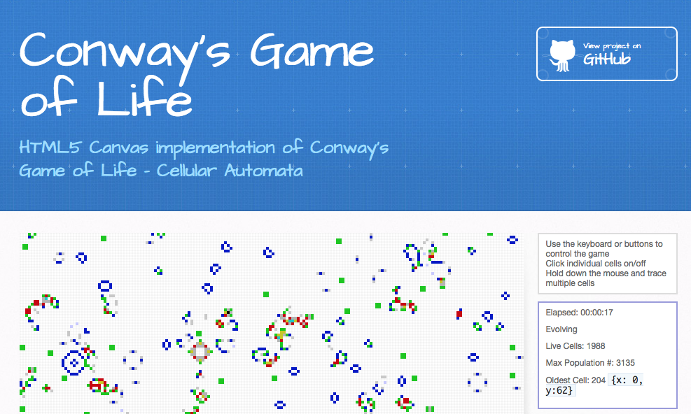 Conways's Game of Life